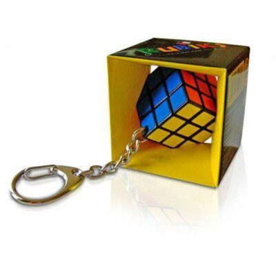 Bűvös kocka kulcstartó 3x3x3