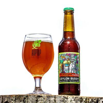 Ceylon Buddy 0,33l – Tea infused DIPA